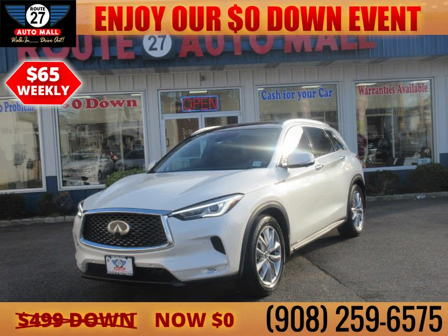 Used 2019 INFINITI QX50 in Linden, New Jersey | Route 27 Auto Mall. Linden, New Jersey