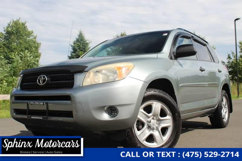 Used Toyota Rav4 Base 4x4 4dr SUV 2008 | Sphinx Motorcars. Waterbury, Connecticut