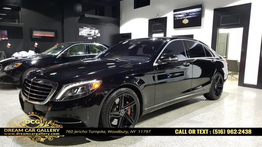 Used Mercedes-Benz S-Class 4dr Sdn S550 4MATIC 2015 | Dream Car Gallery. Woodbury, New York