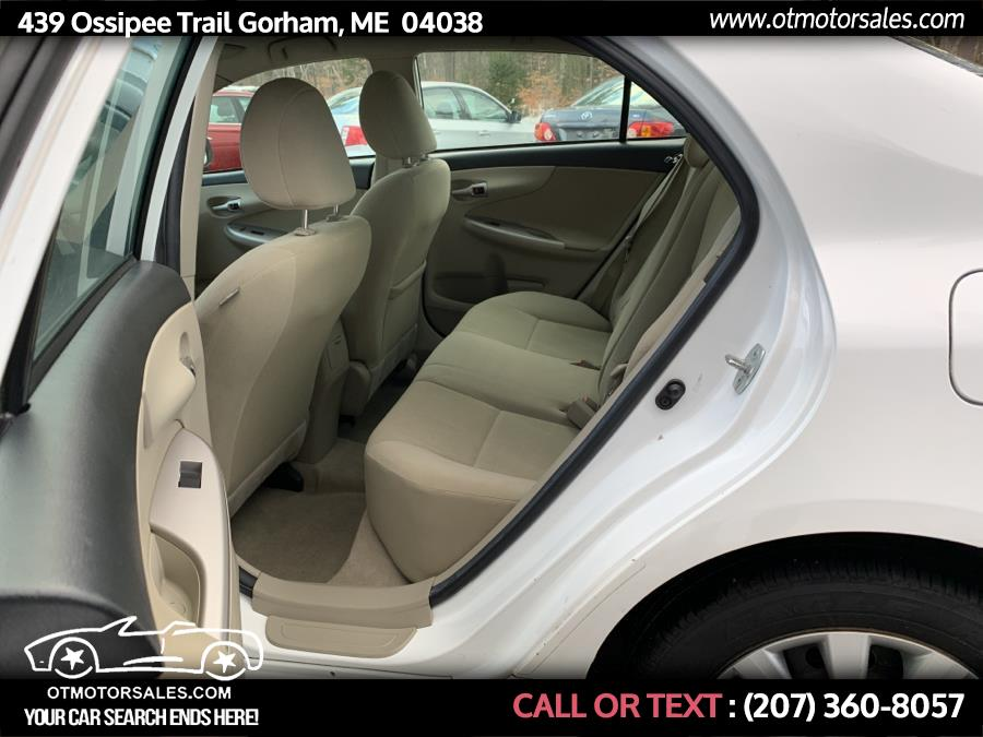 Used Toyota Corolla LE 2013 | Ossipee Trail Motor Sales. Gorham, Maine