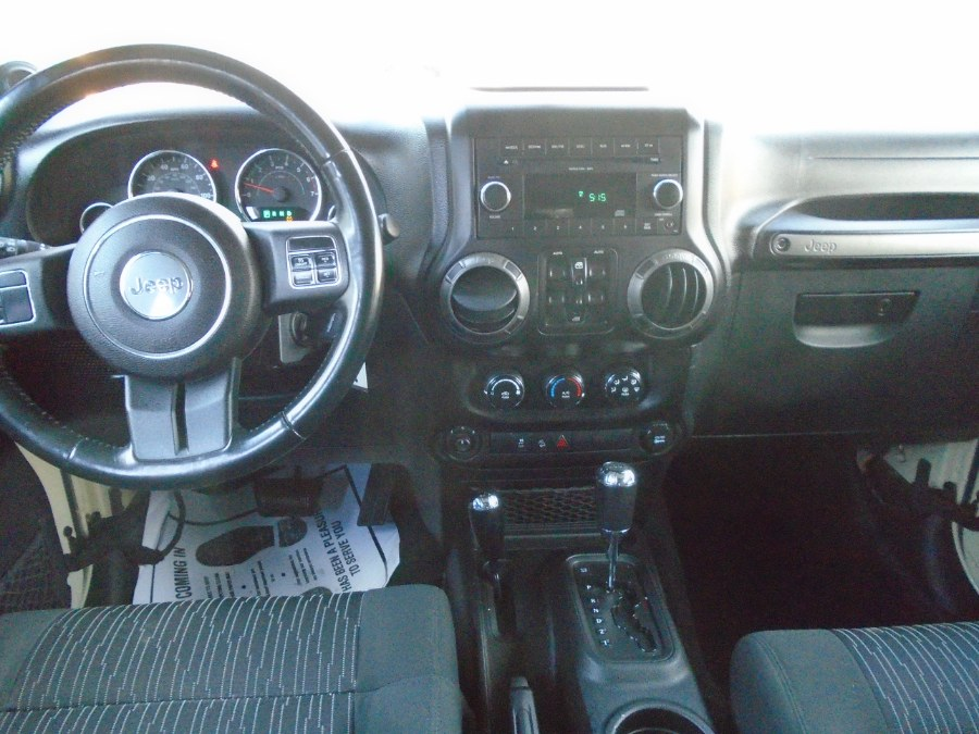 Used Jeep Wrangler Unlimited 4WD 4dr Sport 2011 | Dealertown Auto Wholesalers. Milford, Connecticut