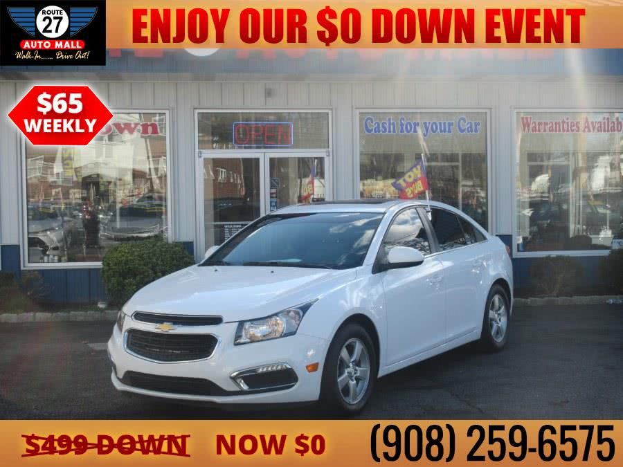 Used 2016 Chevrolet Cruze Limited in Linden, New Jersey | Route 27 Auto Mall. Linden, New Jersey