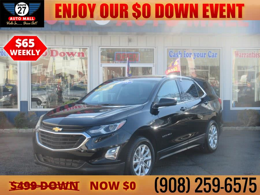 Used 2018 Chevrolet Equinox in Linden, New Jersey | Route 27 Auto Mall. Linden, New Jersey