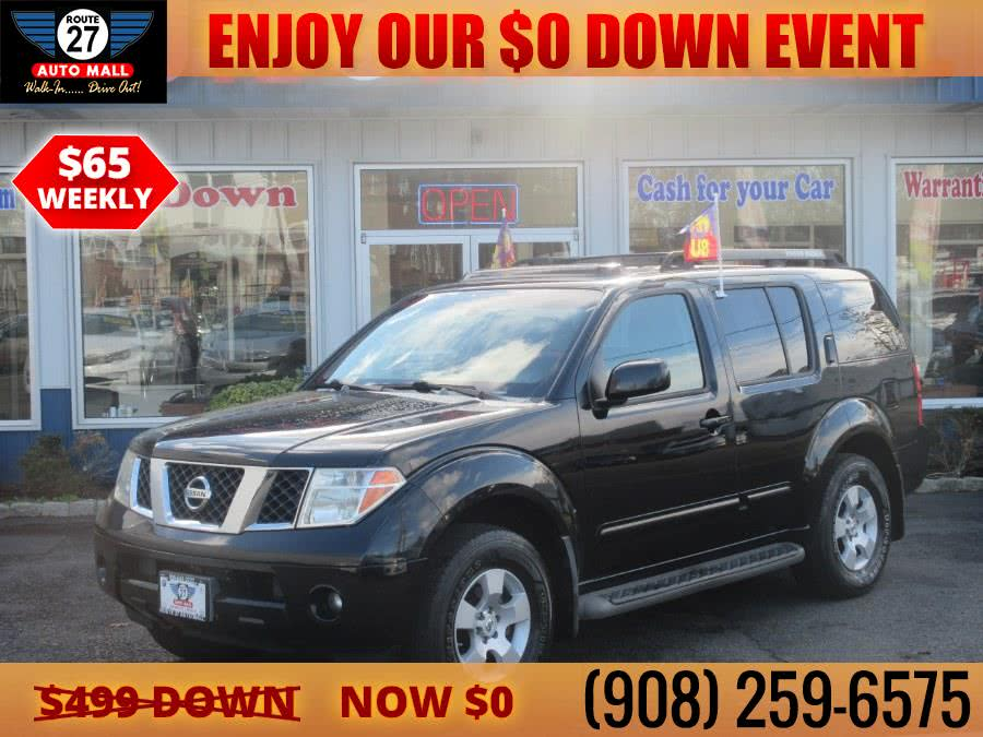 Used 2007 Nissan Pathfinder in Linden, New Jersey | Route 27 Auto Mall. Linden, New Jersey