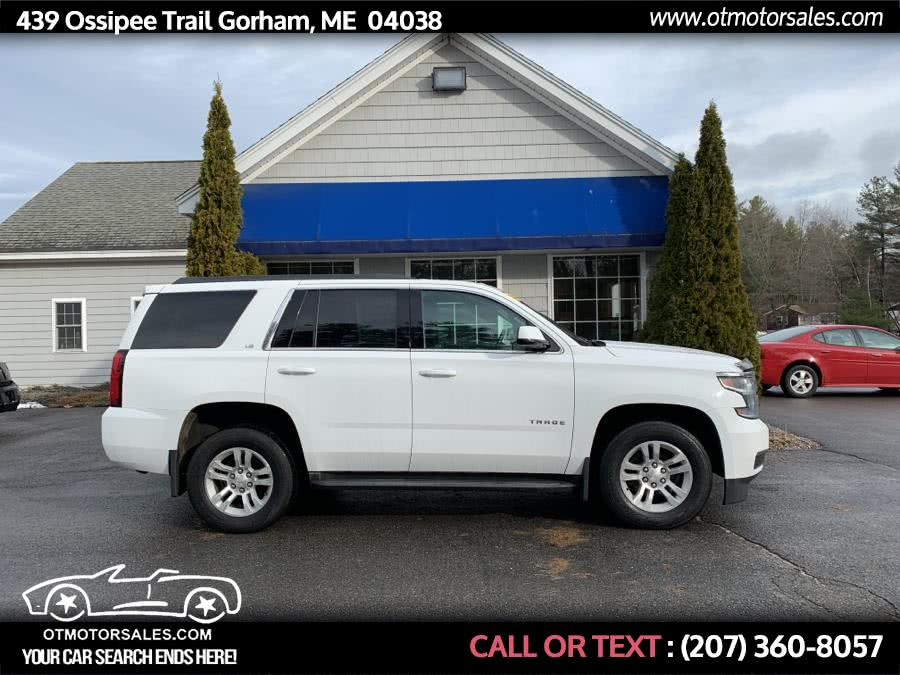 2016 Chevrolet Tahoe 4WD 4dr LS, available for sale in Gorham, ME