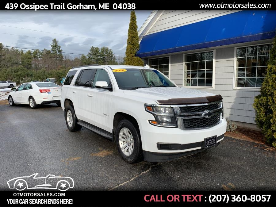 Used Chevrolet Tahoe 4WD 4dr LS 2016 | Ossipee Trail Motor Sales. Gorham, Maine