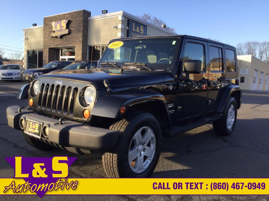 Used Jeep Wrangler Unlimited 4WD 4dr Unlimited 2007 | L&S Automotive LLC. Plantsville, Connecticut