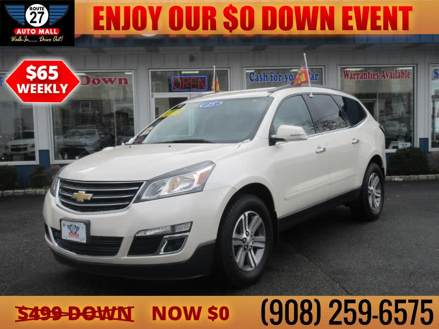 Used 2015 Chevrolet Traverse in Linden, New Jersey | Route 27 Auto Mall. Linden, New Jersey
