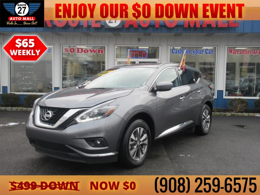 Used 2018 Nissan Murano in Linden, New Jersey | Route 27 Auto Mall. Linden, New Jersey