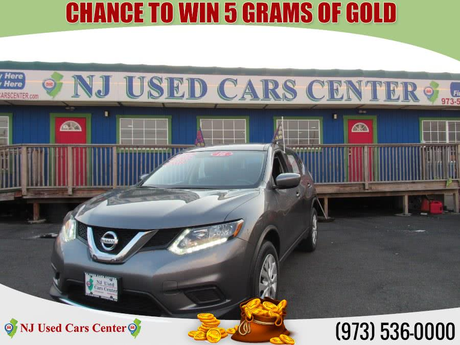 Used 2016 Nissan Rogue in Irvington, New Jersey | NJ Used Cars Center. Irvington, New Jersey