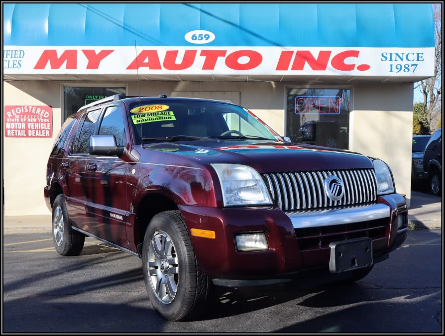 Used 2008 Mercury Mountaineer in Huntington Station, New York | My Auto Inc.. Huntington Station, New York