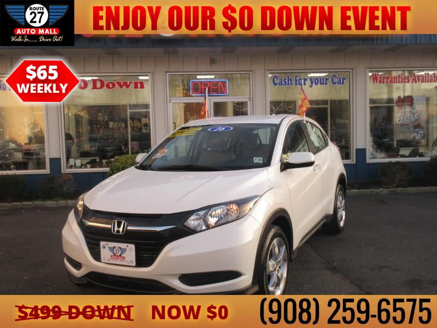 Used 2016 Honda HR-V in Linden, New Jersey | Route 27 Auto Mall. Linden, New Jersey