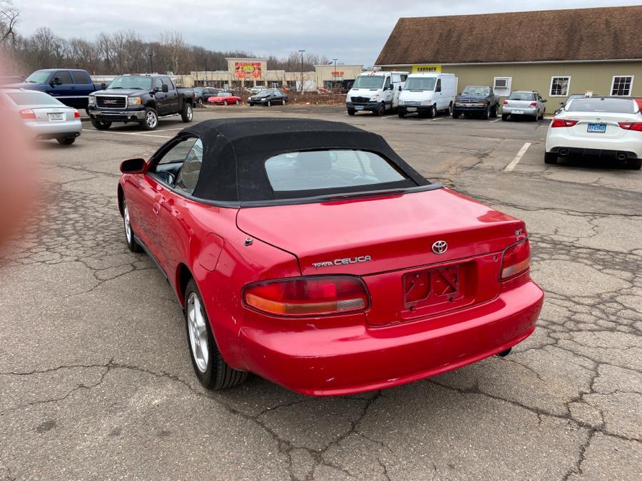 Used Toyota Celica 2dr Convertible GT Auto 1995 | Vertucci Automotive Inc. Wallingford, Connecticut
