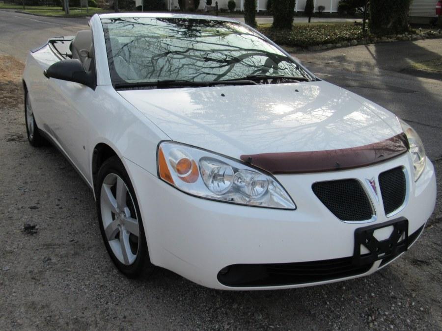 Used Pontiac G6 2dr Convertible GT 2007 | White Glove Auto Leasing Inc. Huntington, New York
