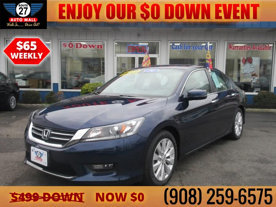 Used 2014 Honda Accord Sedan in Linden, New Jersey | Route 27 Auto Mall. Linden, New Jersey