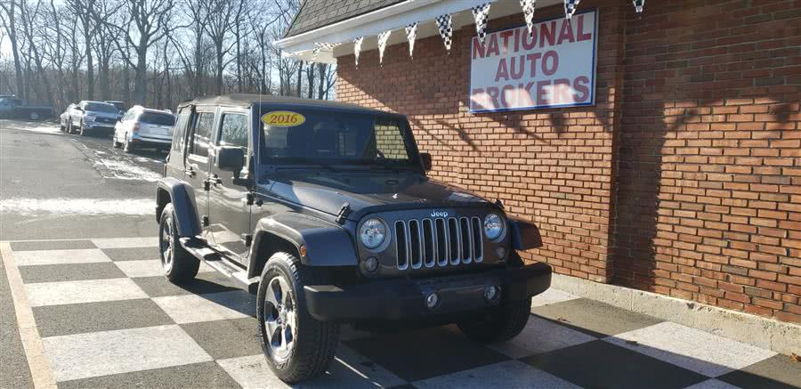Used 2016 Jeep Wrangler Unlimited in Waterbury, Connecticut | National Auto Brokers, Inc.. Waterbury, Connecticut