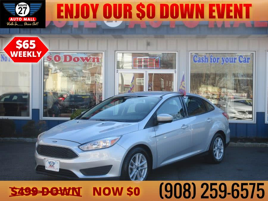 Used 2018 Ford Focus in Linden, New Jersey | Route 27 Auto Mall. Linden, New Jersey