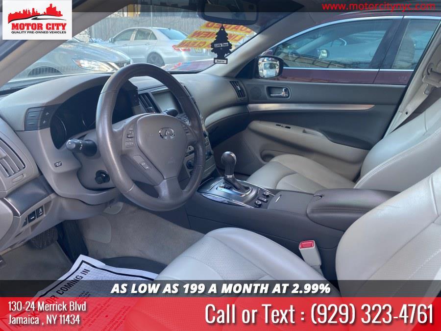 Used Infiniti G37 Sedan 4dr x AWD 2012 | Motor City. Jamaica, New York