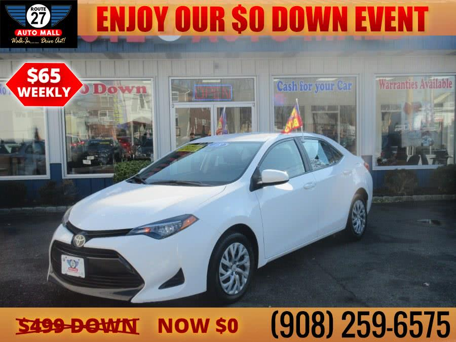 Used 2018 Toyota Corolla in Linden, New Jersey | Route 27 Auto Mall. Linden, New Jersey