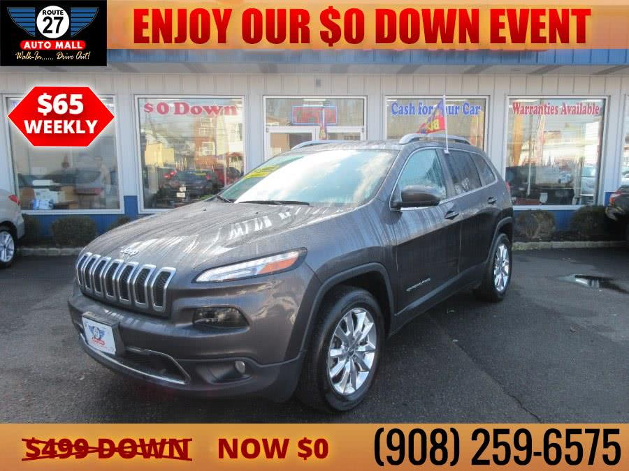 Used 2016 Jeep Cherokee in Linden, New Jersey | Route 27 Auto Mall. Linden, New Jersey