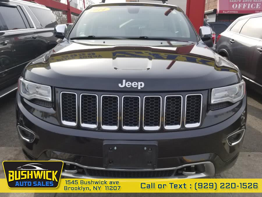 Used Jeep Grand Cherokee 4WD 4dr Overland 2014 | Bushwick Auto Sales LLC. Brooklyn, New York