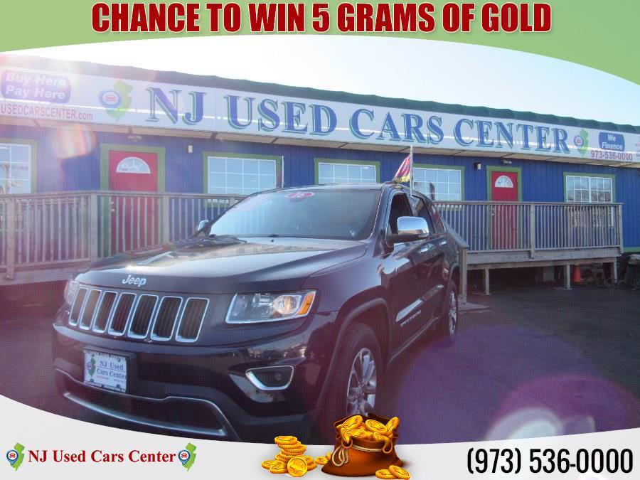 Used 2016 Jeep Grand Cherokee in Irvington, New Jersey | NJ Used Cars Center. Irvington, New Jersey