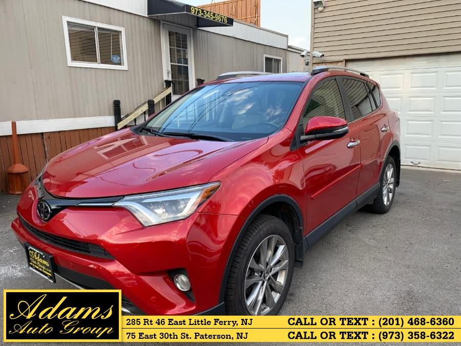 Used Toyota RAV4 AWD 4dr Limited (Natl) 2016 | Adams Auto Group . Little Ferry , New Jersey
