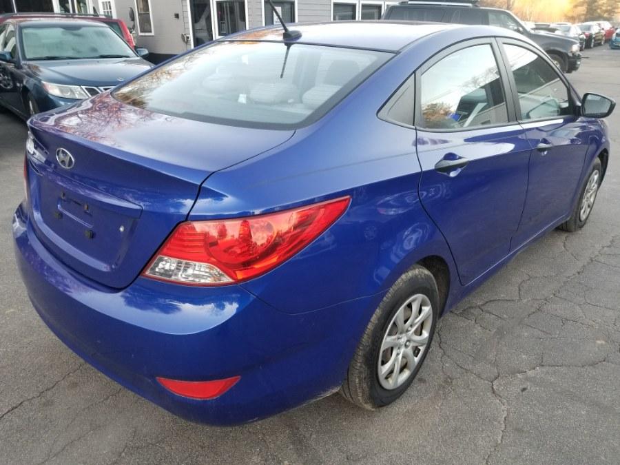 Used Hyundai Accent 4dr Sdn Man GLS 2012 | ODA Auto Precision LLC. Auburn, New Hampshire