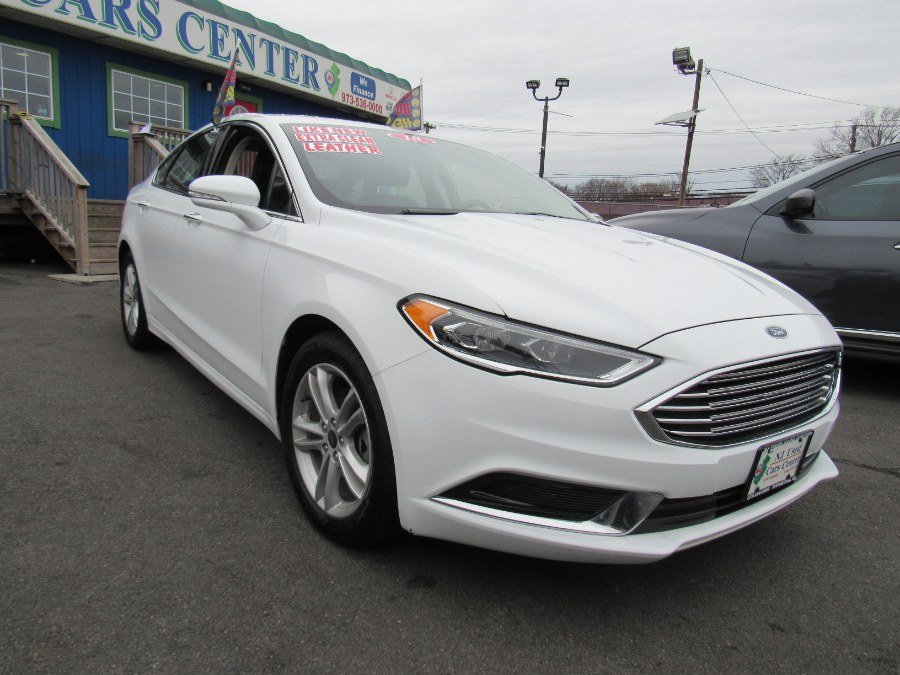 Used Ford Fusion SE FWD 2018 | NJ Used Cars Center. Irvington, New Jersey