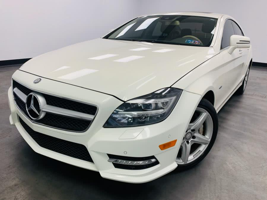 2012 Mercedes-Benz CLS-Class 4dr Sdn CLS550 4MATIC, available for sale in Linden, NJ