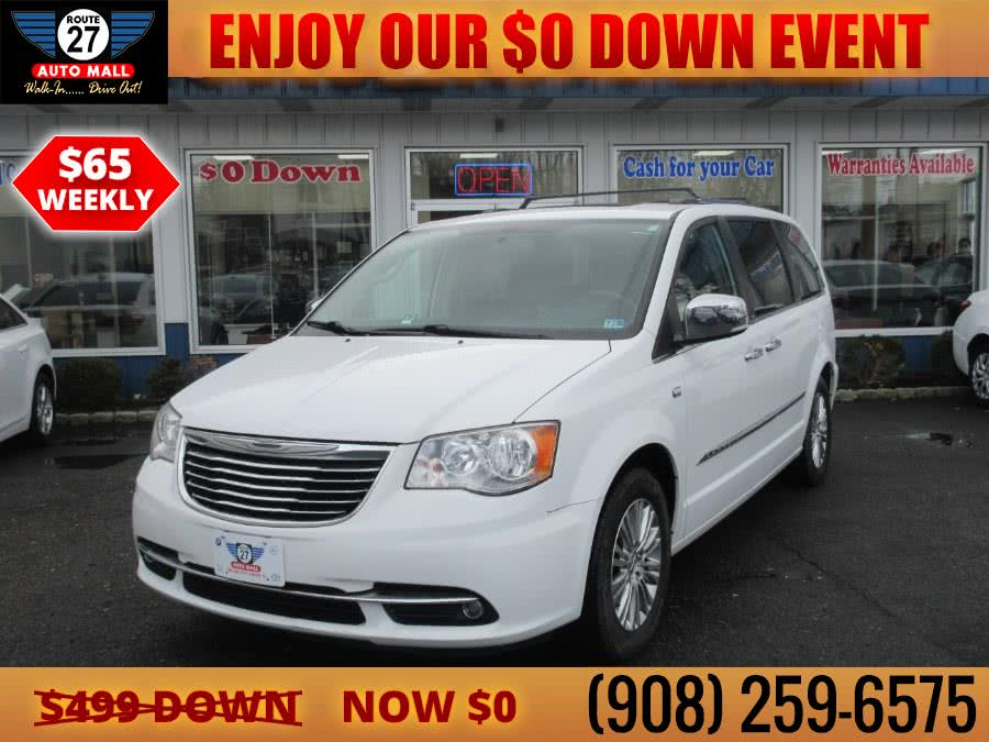 Used 2014 Chrysler Town & Country in Linden, New Jersey | Route 27 Auto Mall. Linden, New Jersey