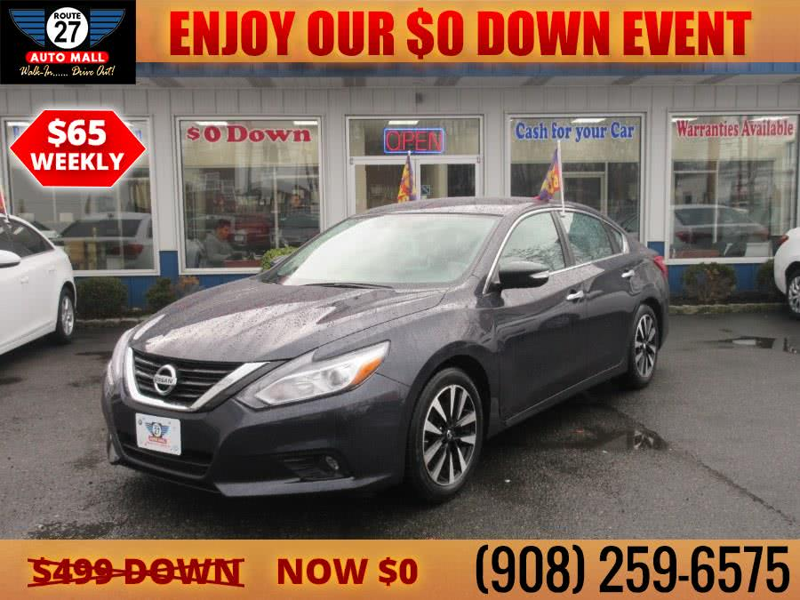 Used 2018 Nissan Altima in Linden, New Jersey | Route 27 Auto Mall. Linden, New Jersey