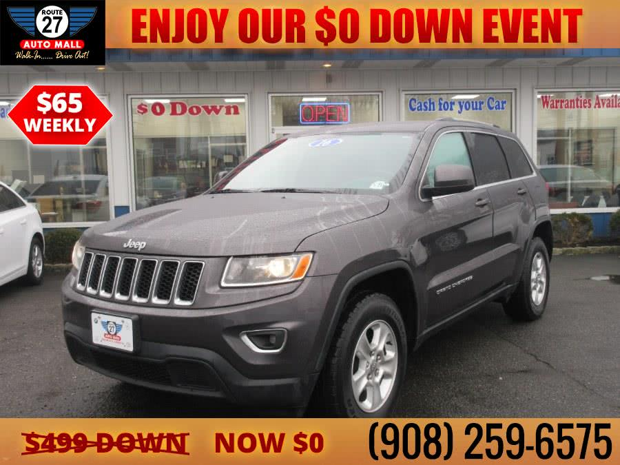Used 2016 Jeep Grand Cherokee in Linden, New Jersey | Route 27 Auto Mall. Linden, New Jersey