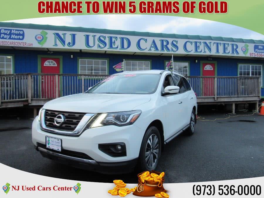 Used 2017 Nissan Pathfinder in Irvington, New Jersey   NJ Used Cars Center. Irvington, New Jersey
