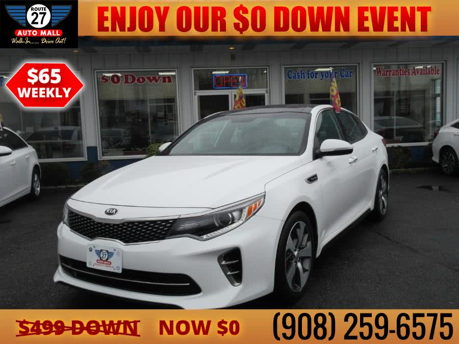 Used 2016 Kia Optima in Linden, New Jersey | Route 27 Auto Mall. Linden, New Jersey