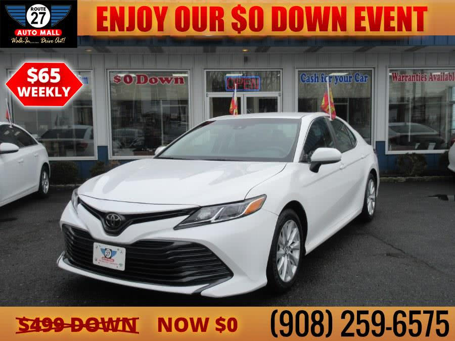 Used 2018 Toyota Camry in Linden, New Jersey   Route 27 Auto Mall. Linden, New Jersey