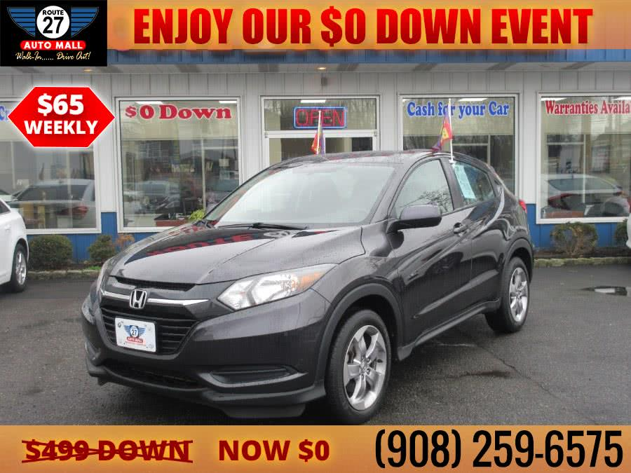 Used 2018 Honda HR-V in Linden, New Jersey | Route 27 Auto Mall. Linden, New Jersey