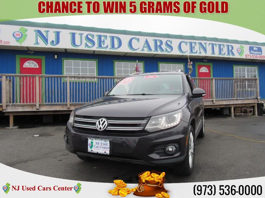 Used 2016 Volkswagen Tiguan in Irvington, New Jersey | NJ Used Cars Center. Irvington, New Jersey
