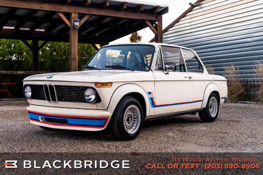 Used BMW 2002 Turbo 1974 | Black Bridge Motors, LLC. Norwalk, Connecticut
