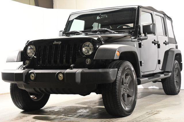 The 2016 Jeep Wrangler Unlimited Sport photos