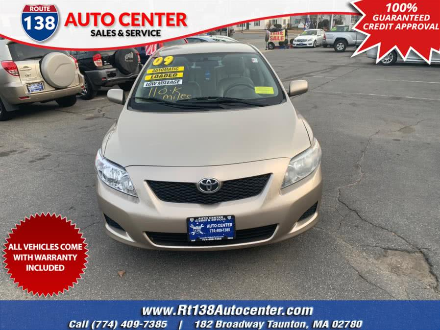 Used 2009 Toyota Corolla in Taunton, Massachusetts | Rt 138 Auto Center Inc . Taunton, Massachusetts