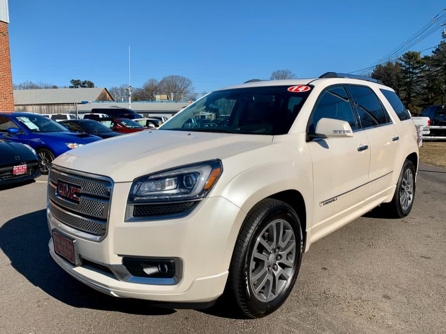 Used GMC Acadia AWD 4dr Denali 2014 | Mike And Tony Auto Sales, Inc. South Windsor, Connecticut
