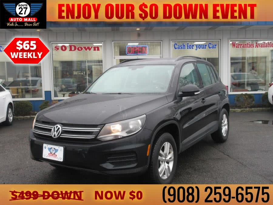Used 2017 Volkswagen Tiguan in Linden, New Jersey | Route 27 Auto Mall. Linden, New Jersey