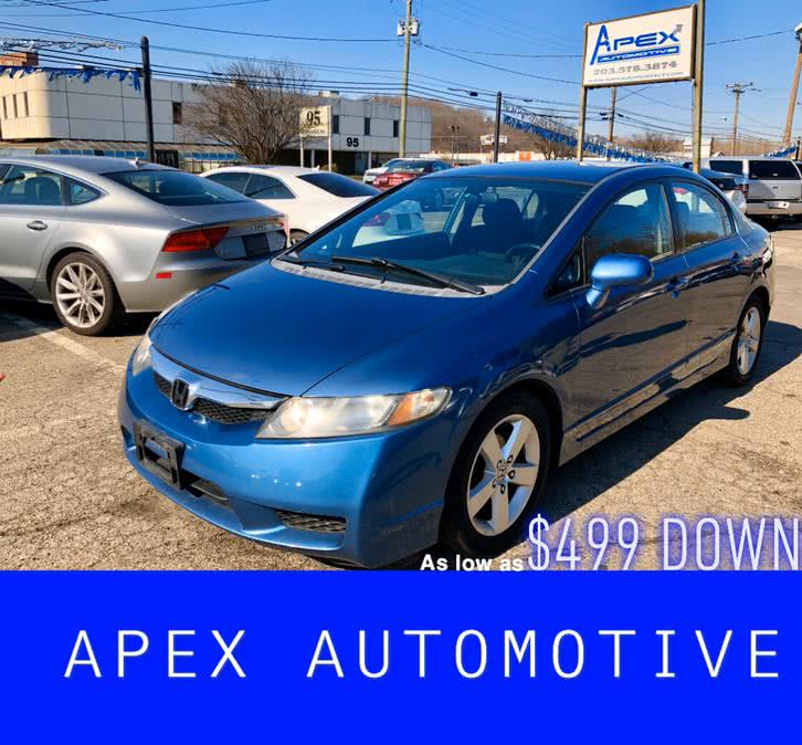 Used 2009 Honda Civic Sdn in Waterbury, Connecticut | Apex  Automotive. Waterbury, Connecticut