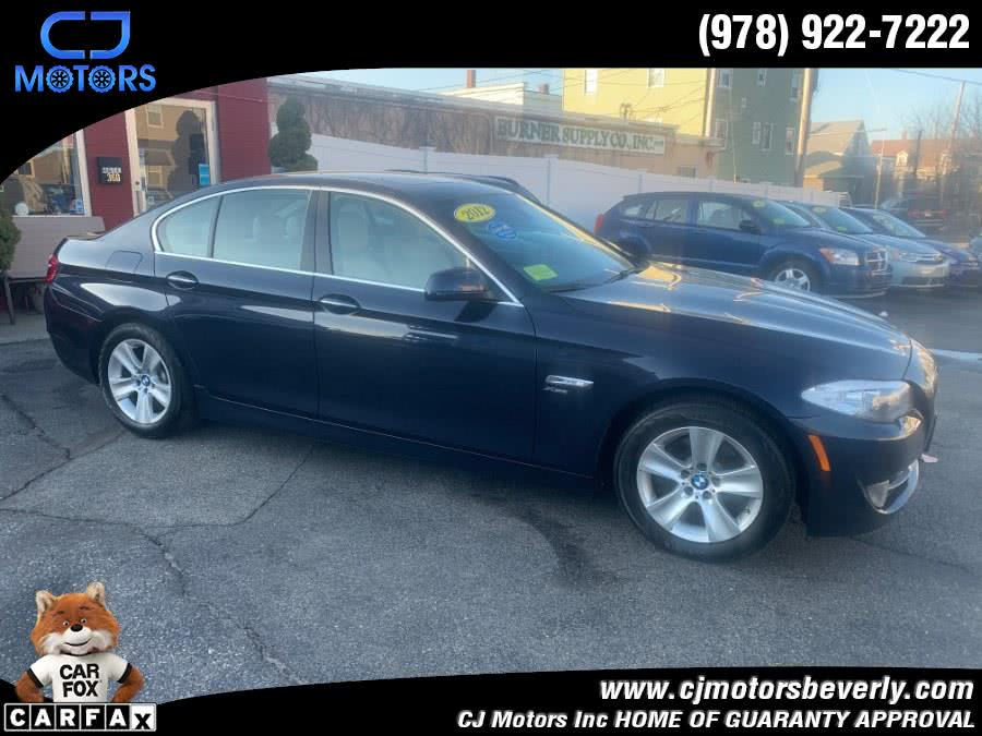 Used 2012 BMW 5 Series in Beverly, Massachusetts | CJ Motors Inc. Beverly, Massachusetts