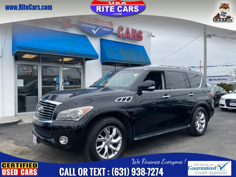 Used Infiniti QX56 4WD Rear Entertainment System 2011 | Rite Cars, Inc. Lindenhurst, New York