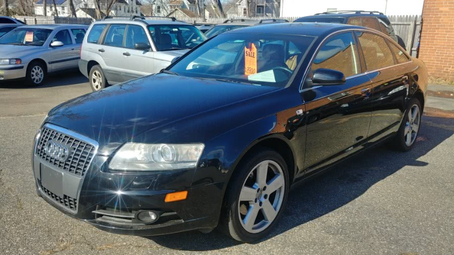 Used Audi A6 4dr Sdn 3.2L quattro *Ltd Avail* 2008 | Classic Motor Cars. East Hartford , Connecticut