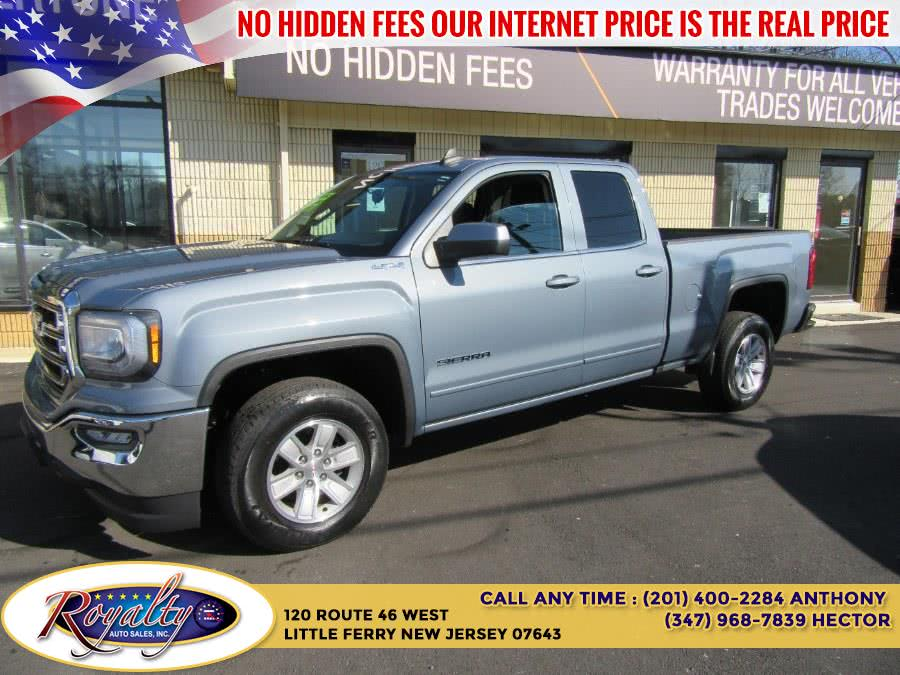 """Used GMC Sierra 1500 4WD Double Cab 143.5"""" SLE 2016   Royalty Auto Sales. Little Ferry, New Jersey"""