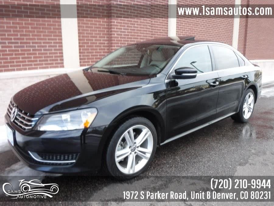Used Volkswagen Passat 4dr Sdn 2.0L DSG TDI SE w/Sunroof 2014 | Sam's Automotive. Denver, Colorado