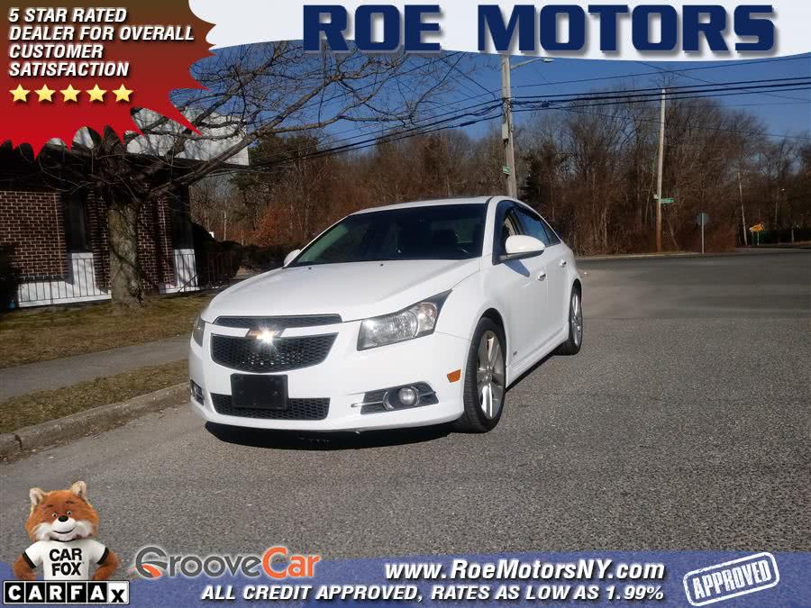 Used 2012 Chevrolet Cruze in Shirley, New York | Roe Motors Ltd. Shirley, New York